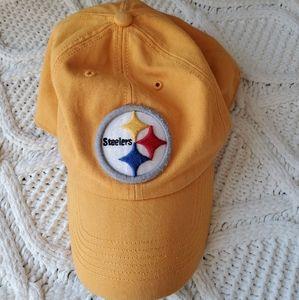 47 NFL Yellow Pittsburg Steelers Flexfit Hat